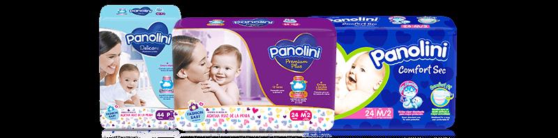 Pañales y Pañitos Panolini - Zaimella