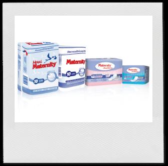 Toallas posparto y protectores de lactancia de Maternity - Zaimella